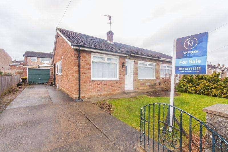 2 Bedrooms Semi Detached Bungalow for sale in Whitehouse Road, Billingham