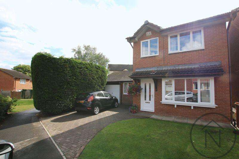 3 Bedrooms Detached House for sale in Raby Drive, Newton Aycliffe