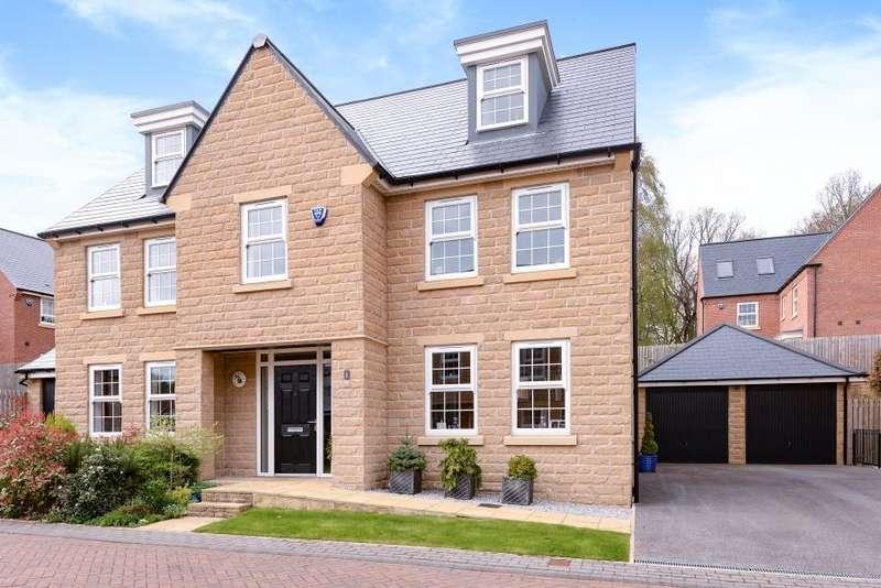 5 Bedrooms Detached House for sale in BRAGG COURT, BODINGTON MANOR, ADEL, LEEDS, LS16 8FZ