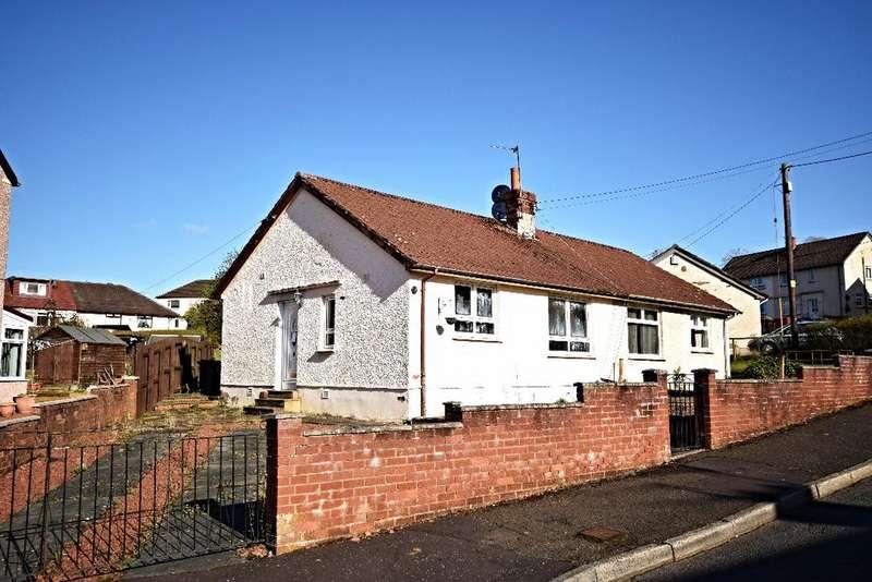 1 Bedroom Semi Detached Bungalow for sale in Glencairn , Cumnock, East Ayrshire, KA18 1HS