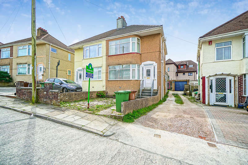 3 Bedrooms Semi Detached House for sale in Jean Crescent, PLYMOUTH, PL3