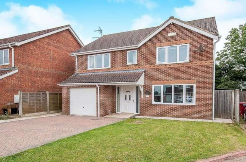 4 Bedrooms Detached House for sale in Fields End , Ulceby DN39
