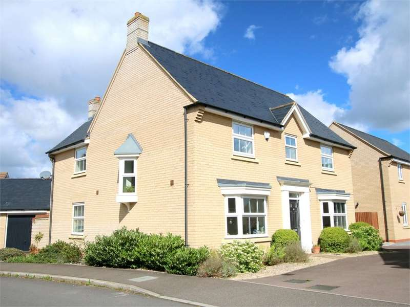 4 Bedrooms Detached House for sale in Loves Farm, ST NEOTS