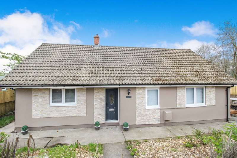 3 Bedrooms Detached Bungalow for sale in Honeyfield Road, Rassau, Ebbw Vale, NP23