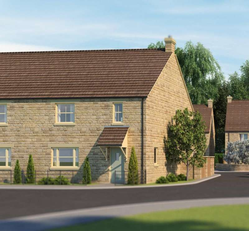 3 Bedrooms Semi Detached House for sale in Gwash Meadows, Belmesthorpe Lane, Ryhall, Stamford, PE9