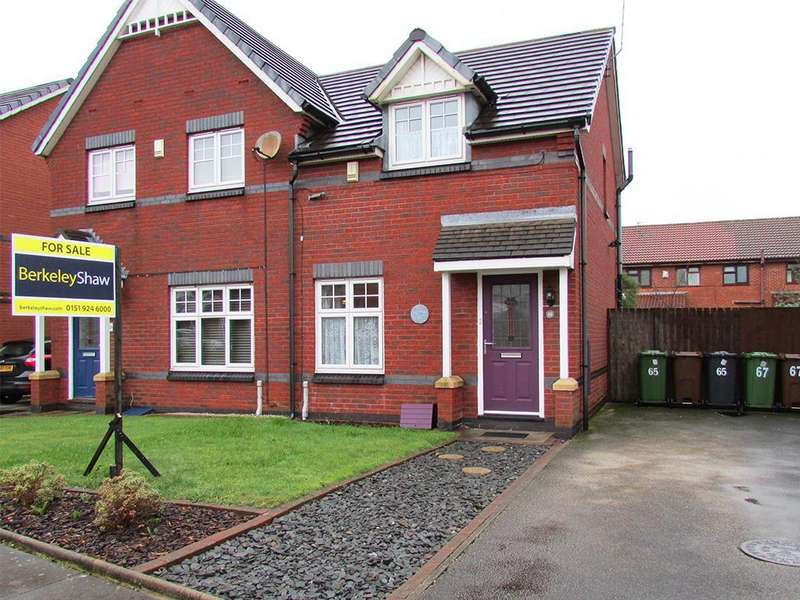 2 Bedrooms Semi Detached House for sale in Barberry Crescent, Bootle