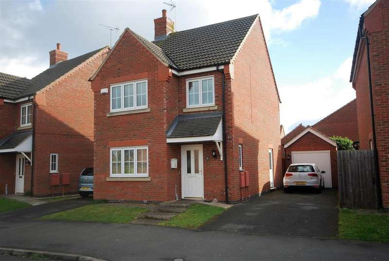 3 Bedrooms Detached House for sale in Piccard Drive, Spalding