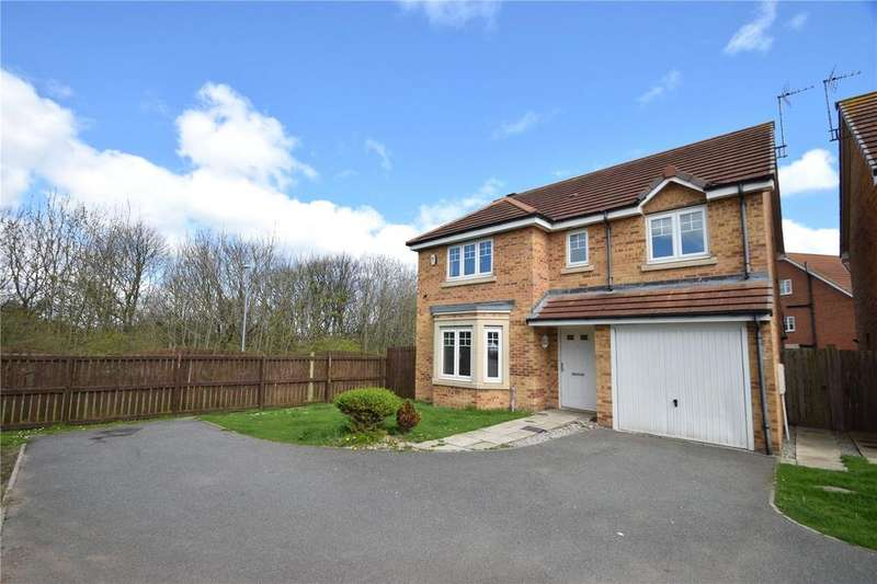 4 Bedrooms Detached House for sale in Staithes Court, East Shore Village, Seaham, Co Durham, SR7