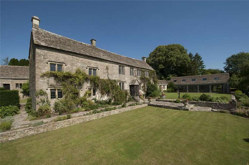 8 Bedrooms Detached House for sale in Far Oakridge, Nr Sapperton, Gloucestershire, GL6