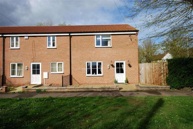2 Bedrooms Semi Detached House for sale in Delgate Avenue, Weston, Spalding