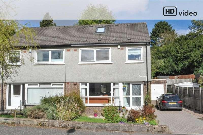 4 Bedrooms Semi Detached House for sale in Kilmardinny Crescent, Bearsden, East Dunbartonshire, G61 3NP