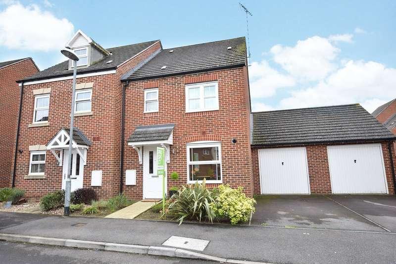 3 Bedrooms Semi Detached House for sale in Goldfinch Crescent, Jennett's Park, Bracknell, Berkshire, RG12