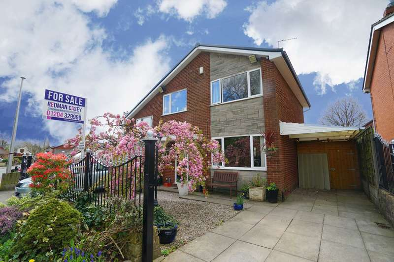 4 Bedrooms Detached House for sale in St James Street, Westhoughton