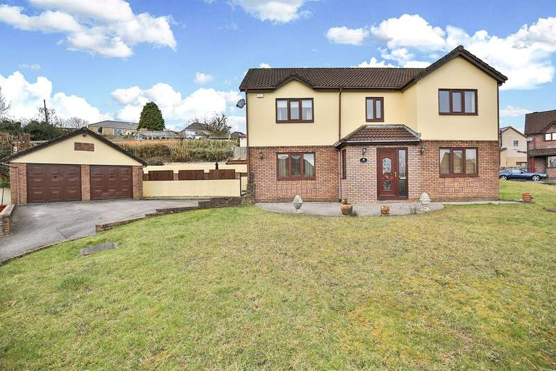 5 Bedrooms Detached House for sale in Kingsacre, Llantwit Fardre, PONTYPRIDD