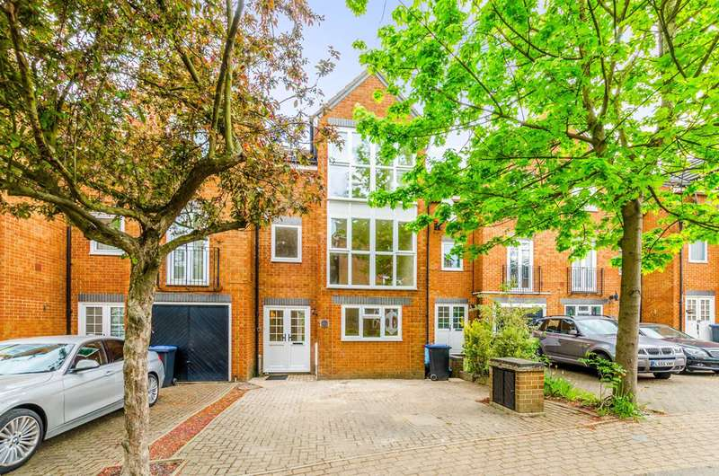 4 Bedrooms Terraced House for sale in Honeyman Close, Brondesbury Park, NW6