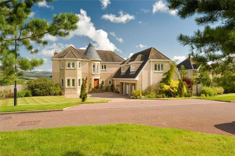 5 Bedrooms Detached House for sale in Dollarbeg Park, Dollar, Clackmannanshire, FK14