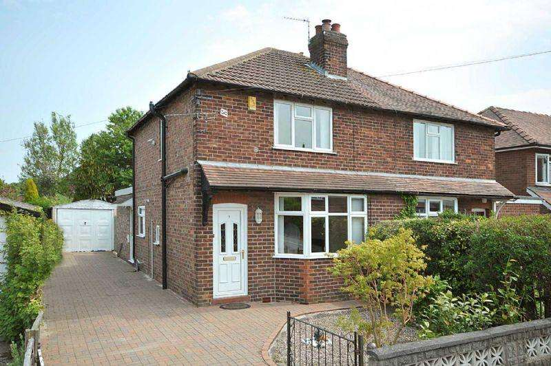 3 Bedrooms Semi Detached House for sale in Acacia Avenue, Knutsford