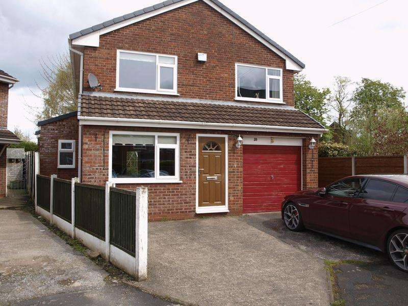 3 Bedrooms Detached House for sale in Wentworth Close, Northwich, CW9 7EE