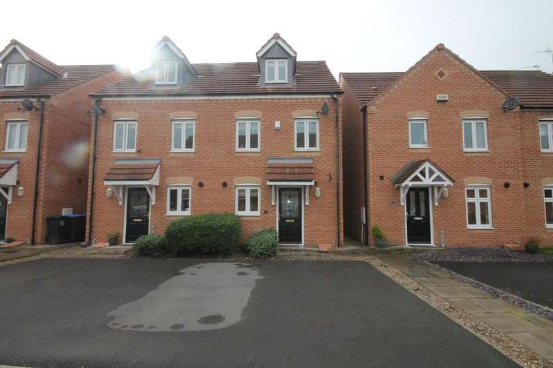 3 Bedrooms Semi Detached House for rent in Harvington Chase, Coulby Newham