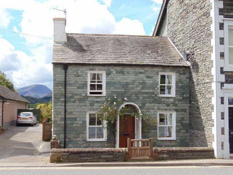 3 Bedrooms Cottage House for sale in Slate Cottage, High Hill, Keswick, Cumbria, CA12 5NY