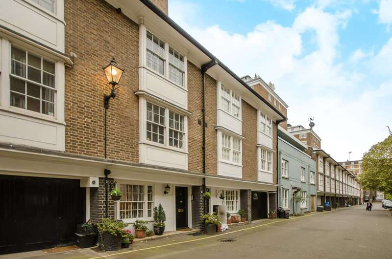 3 Bedrooms Mews House for sale in Bryanston Mews West, Marylebone, W1H