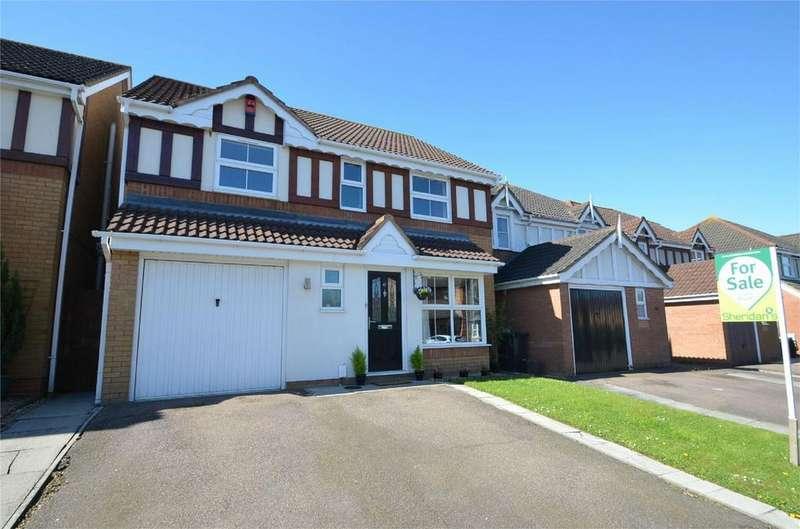 5 Bedrooms Detached House for sale in Eisenhower Road, SHEFFORD, Bedfordshire