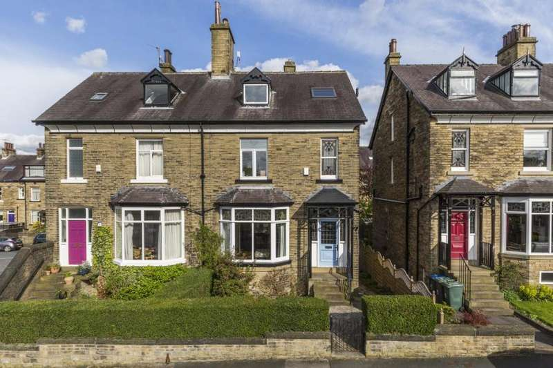 4 Bedrooms Semi Detached House for sale in FARFIELD ROAD, SHIPLEY, BD18 4QP