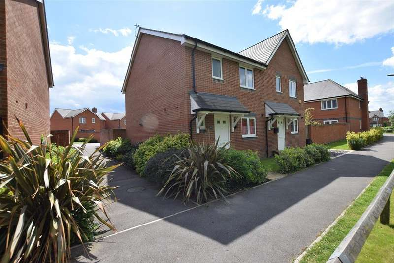3 Bedrooms Semi Detached House for sale in Elk Path, Three Mile Cross, Reading, RG7