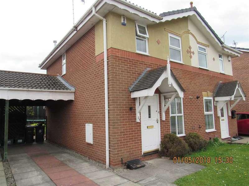 2 Bedrooms Semi Detached House for rent in Hilbre Drive, Stanney Oaks, Ellesmere Port