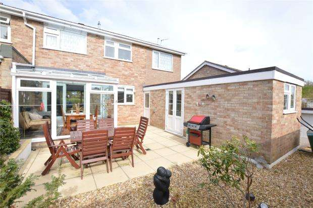 5 Bedrooms Semi Detached House for sale in Keyberry Close, Newton Abbot, Devon