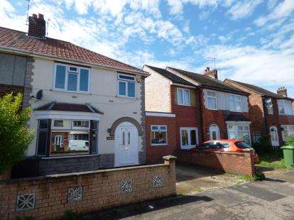 3 Bedrooms Semi Detached House for sale in Peveril Road, Dogsthorpe, Peterborough, Cambridgeshire