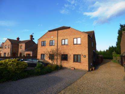 3 Bedrooms Semi Detached House for sale in Burnt House Road, Turves, Whittlesey, Peterborough