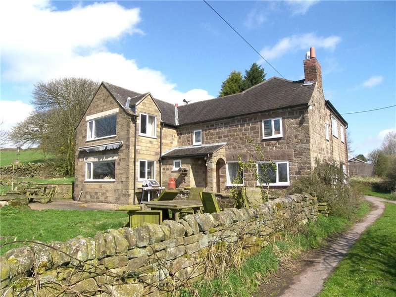 4 Bedrooms Detached House for sale in Gorses, Shottle, Belper, Derbyshire, DE56