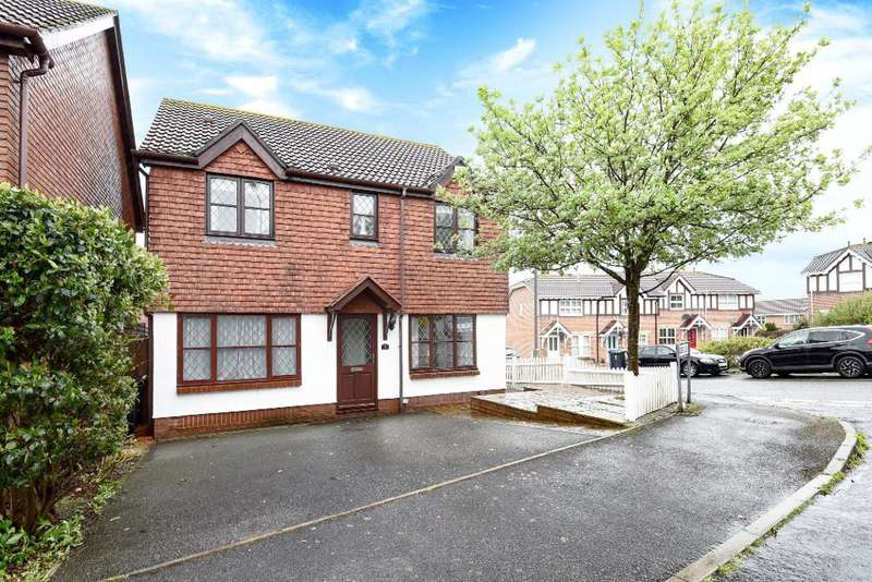 4 Bedrooms Detached House for sale in Badger Close, Portslade, East Sussex, BN41 2EQ