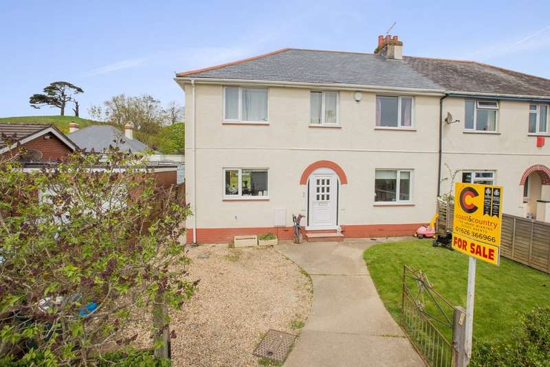 4 Bedrooms Semi Detached House for sale in Belvedere Road, Newton Abbot