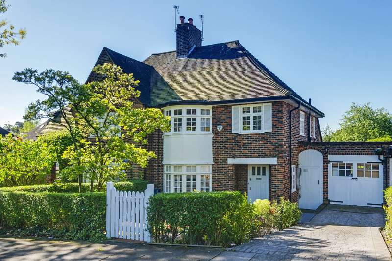3 Bedrooms House for sale in Hill Top, Hampstead Garden Suburb