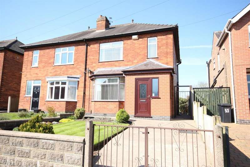 3 Bedrooms Semi Detached House for sale in Vicarage Road, Mickleover, Derby