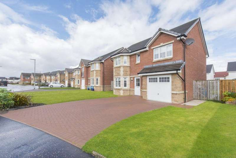 4 Bedrooms Detached Villa House for sale in 21 Dunlop Crescent, Stepps, Glasgow, G33 6GS