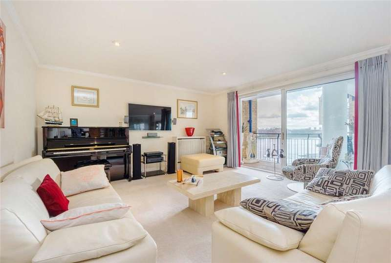 3 Bedrooms Flat for sale in St Hildas Wharf, 170 Wapping High Street, Wapping, London, E1W