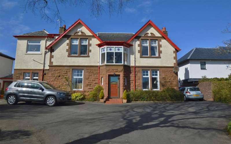 3 Bedrooms Ground Flat for sale in 25 Bowfield Road, WEST KILBRIDE, KA23 9LD
