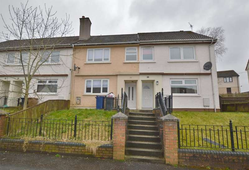 2 Bedrooms Terraced House for sale in 44 Burnhouse Avenue, DALRY, KA24 4AX