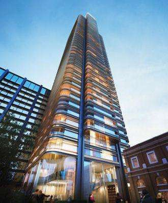 3 Bedrooms Penthouse Flat for sale in Principle Tower, Worship Street, London EC2A