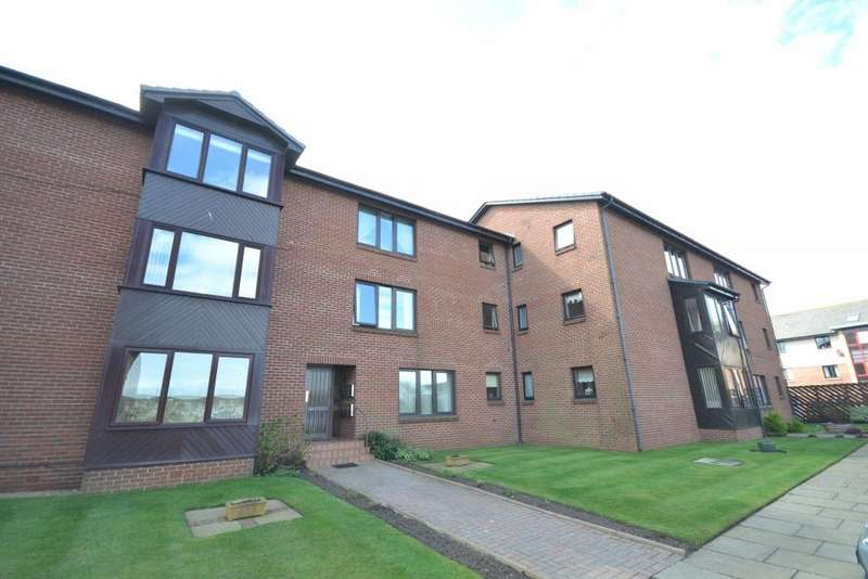 2 Bedrooms Apartment Flat for sale in 10 Logan Court, Troon, KA10 6PD