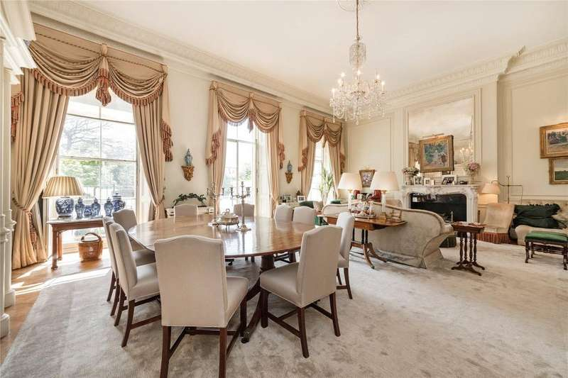 3 Bedrooms Flat for sale in Hyde Park Gardens, The Hyde Park Estate, London