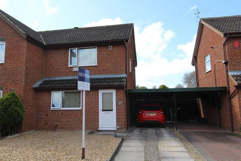 2 Bedrooms Semi Detached House for sale in Minton Close , Whitchurch , Bristol, BS14 9YB