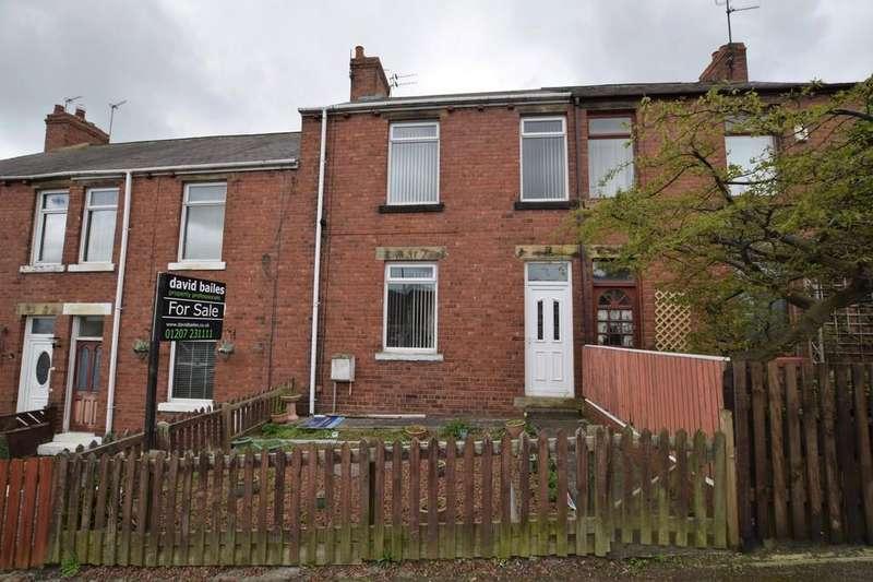 3 Bedrooms Terraced House for sale in Elm Terrace, Tantobie, Stanley