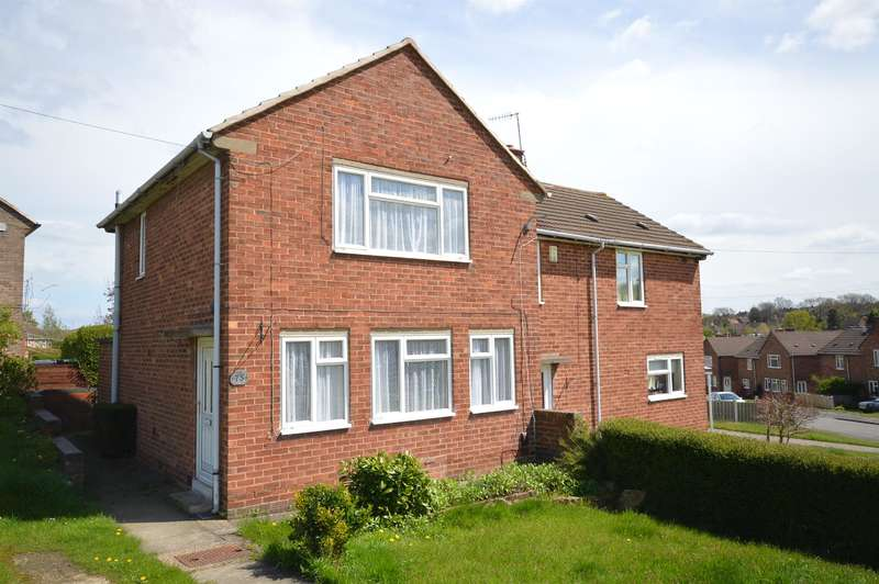 2 Bedrooms Semi Detached House for sale in Willow Garth Road, Newbold, Chesterfield, S41