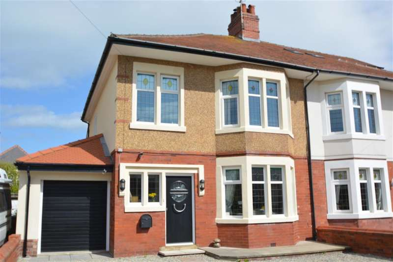 3 Bedrooms Semi Detached House for sale in Coniston Road, Blackpool, FY4 2BY