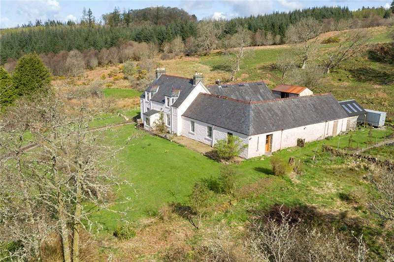 3 Bedrooms Detached House for sale in Achnabreck Farm, Lochgilphead