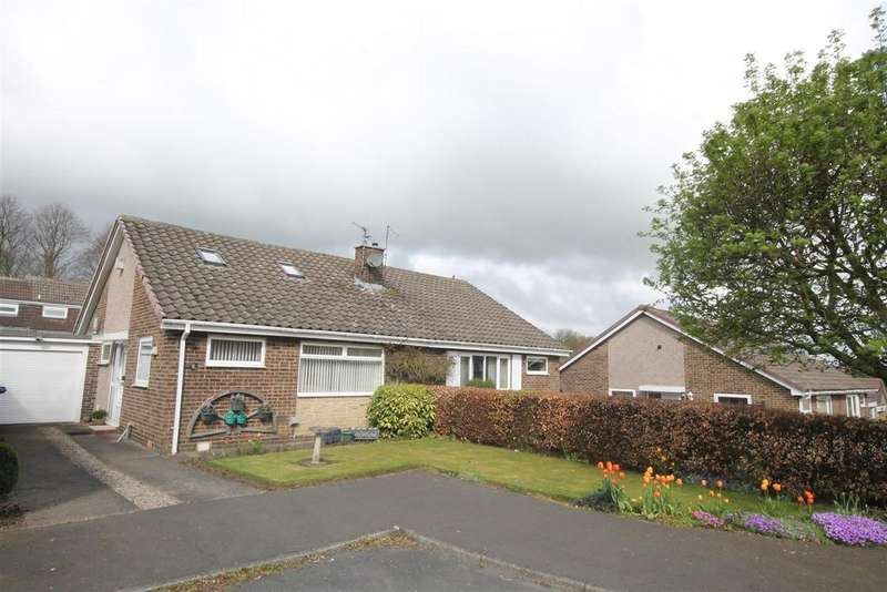 2 Bedrooms Semi Detached Bungalow for sale in Rosedale Close, Sedgefield, Stockton-On-Tees